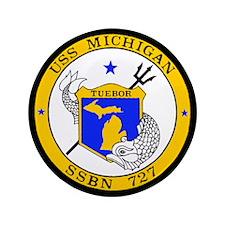 """USS Michigan SSGN-727 3.5"""" Button (100 pack)"""
