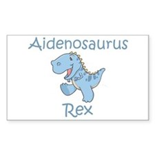 Aidenosaurus Rex Rectangle Decal