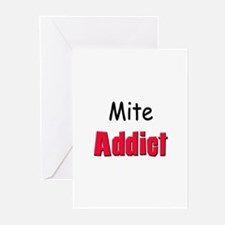 Mite Addict Greeting Cards (Pk of 10)