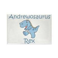 Andrewosaurus Rex Rectangle Magnet