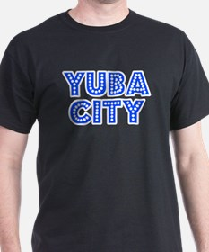 Retro Yuba City (Blue) T-Shirt