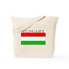Hungary Hungarian Flag Tote Bag