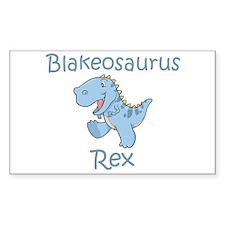 Blakeosaurus Rex Rectangle Decal