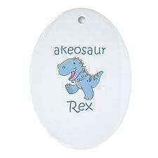 Blakeosaurus Rex Oval Ornament