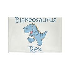 Blakeosaurus Rex Rectangle Magnet