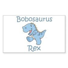 Bobosaurus Rex Rectangle Decal