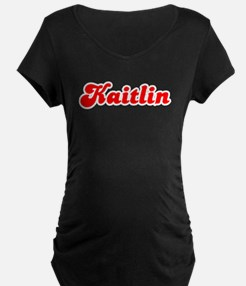 Retro Kaitlin (Red) T-Shirt