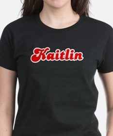 Retro Kaitlin (Red) Tee