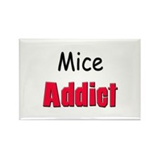 Mice Addict Rectangle Magnet