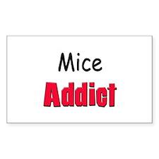 Mice Addict Rectangle Decal