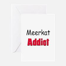 Meerkat Addict Greeting Cards (Pk of 10)