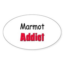 Marmot Addict Oval Decal