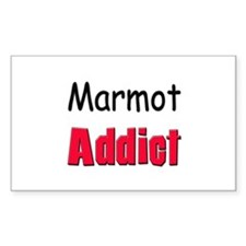 Marmot Addict Rectangle Decal