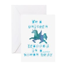 I'm a Unicorn Greeting Card