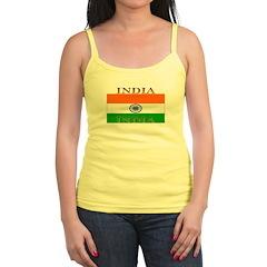 India Indian Flag Jr.Spaghetti Strap