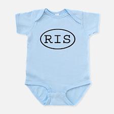 RIS Oval Infant Bodysuit