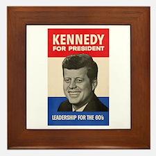 JFK '60 Framed Tile