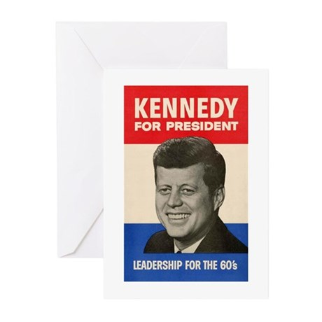 JFK '60 Greeting Cards (Pk of 10)