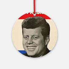 JFK '60 Ornament (Round)
