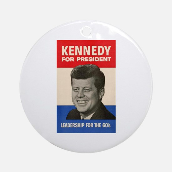 JFK '60 Ornament (Round)