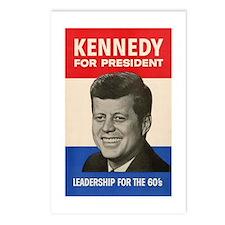 JFK '60 Postcards (Package of 8)