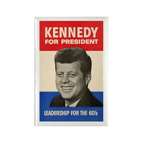 JFK '60 Rectangle Magnet (10 pack)