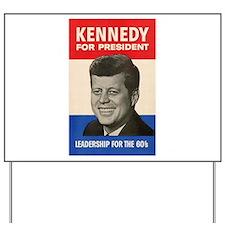 JFK '60 Yard Sign