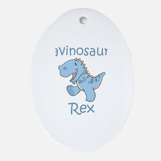 Gavinosaurus Rex Oval Ornament