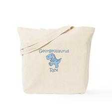 Georgeosaurus Rex Tote Bag