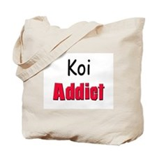 Koi Addict Tote Bag