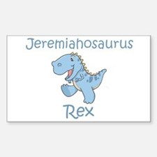 Jeremiahosaurus Rex Rectangle Decal