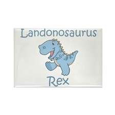 Landonosaurus Rex Rectangle Magnet