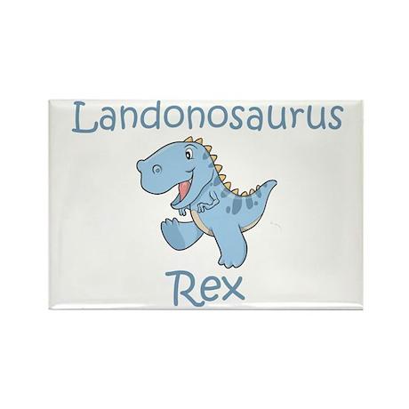 Landonosaurus Rex Rectangle Magnet