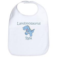 Landonosaurus Rex Bib