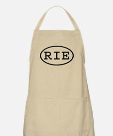 RIE Oval BBQ Apron