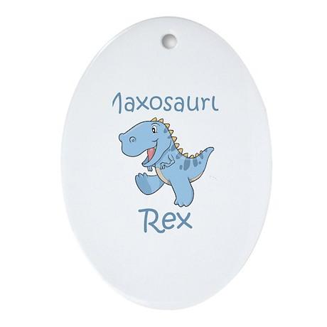 Maxosaurus Rex Oval Ornament