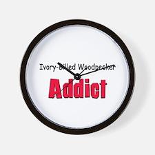 Ivory-Billed Woodpecker Addict Wall Clock