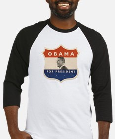 Obama JFK '60-Style Shield Baseball Jersey