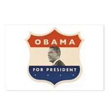 Obama JFK '60-Style Shield Postcards (Package of 8