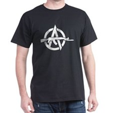 AK-47 Anarchy Symbol T-Shirt