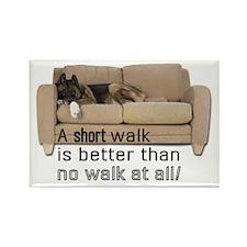 Short Walk Rectangle Magnet