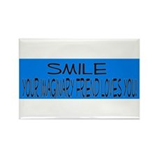 Smile Rectangle Magnet