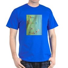 Happy Father's Day Zaide (Eng) T-Shirt