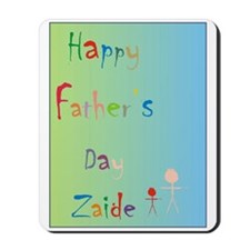 Happy Father's Day Zaide (Eng) Mousepad