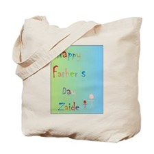 Happy Father's Day Zaide (Eng) Tote Bag
