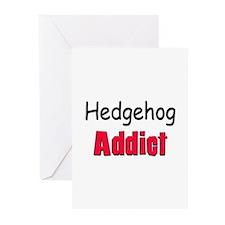 Hedgehog Addict Greeting Cards (Pk of 10)