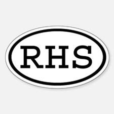 RHS Oval Oval Decal