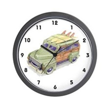 Toy Surf Car Wall Clock