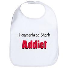 Hammerhead Shark Addict Bib