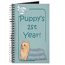 Yorkie Puppy's 1st Year Journal
